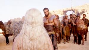 Daenerys Targaryen's new husband, Khal Drogo