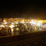 Jemaa el-Fnaa night market