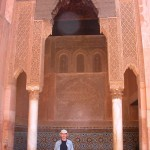 Gary at the Saadian Tombs