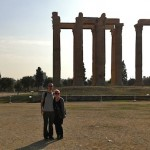 Athens sites: The Temple of Olympian Zeus