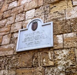 mdina-plaque