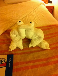 frog-towelanimal