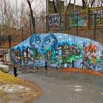 Elicser's Monarch Park Murals