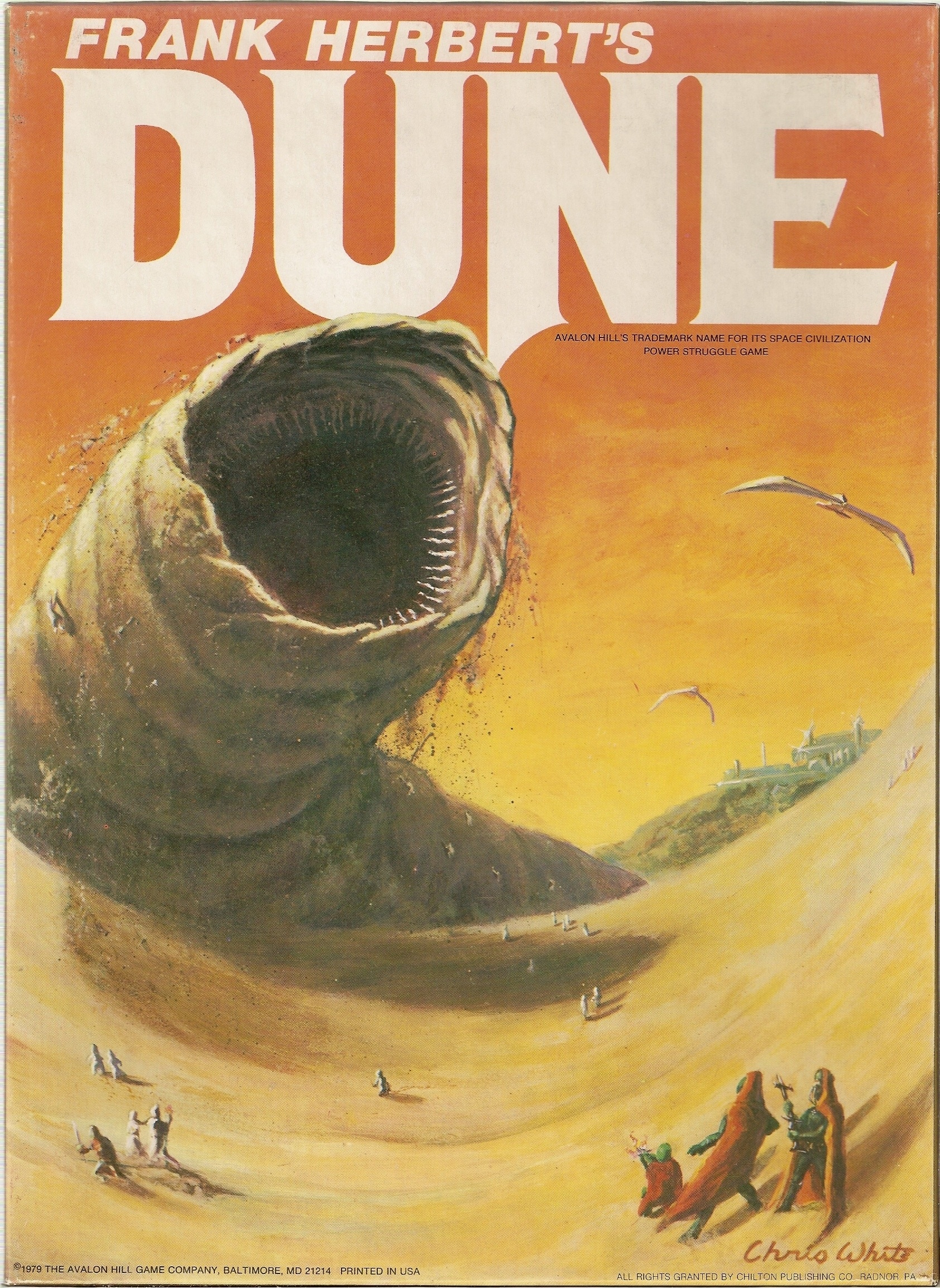 Image result for Dune by Frank Herbert